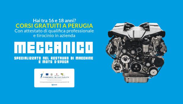 Corso gratuito Meccanico specializzato nel restauro di macchine e moto d'epoca
