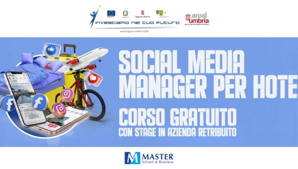 Corso gratuito Social Media Manager per Hotel